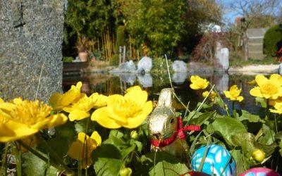 Wir wünschen ein schönes Osterfest und erholsame Ferien