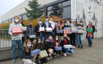 Über 100 Weihnachtspäckchen gesammelt